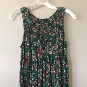 American Eagle Floral Print Dress